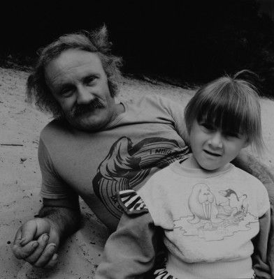 mr. Wasylow and his daughter, 1996